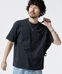 nano・universe/【WEB限定】14S/-天竺ビッグシルエットTシャツ 半袖/502308067
