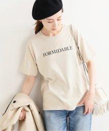 IENA/《追加2予約》ロゴプリントTシャツ◆/502308151
