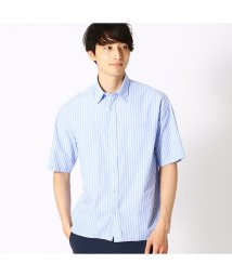 COMME CA ISM/コムサイズム COMME CA ISM  ストライプ 半袖シャツ (ブルー)/502309151