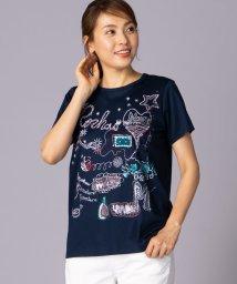Leilian PLUS HOUSE/グラフィックTシャツ/502041792