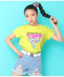 ANAP GiRL/ヤシプリントTシャツ/502297816