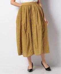 axes femme/縦切り替え刺繍スカート/502299905