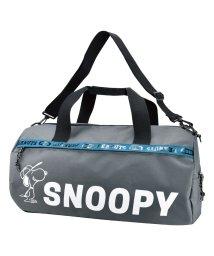 RUNNER/SNOOPY スヌーピー ロゴライン ボストンバッグ/502306262