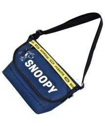 RUNNER/SNOOPY スヌーピー ロゴライン メッセンジャーバッグ ショルダーバッグ/502306263