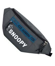 RUNNER/SNOOPY スヌーピー ロゴライン ボディバッグ ウエストバッグ/502306264