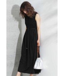 PROPORTION BODY DRESSING/◆ジャージーシャーリングマキシワンピース/502310113