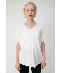 moussy/V NECK FLARE RIB Tシャツ/502310154