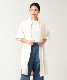 SANYO COAT/〈BLUEFLAG〉和紙キュプラツイルシャツコート/501906292