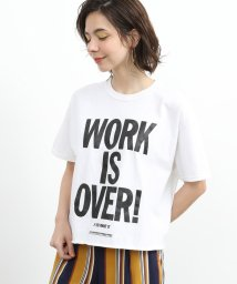 Adam et Rope Le Magasin/【FUNG】WORK IS OVER TEE/502286455