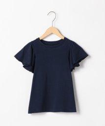 coen/【coen キッズ / ジュニア】フレアスリーブTシャツ/502298418