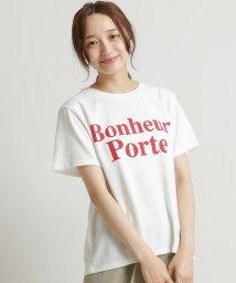 framesRayCassin/空紡糸ロゴTシャツ/502311226