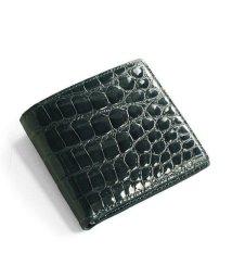 sankyoshokai/クロコダイル 折り財布 レディース シャイニング 加工 両カード ヘンローン 全15色/502311271