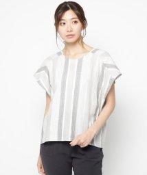 AIRPAPEL/【洗える】アーティドビーシャツ/502311762
