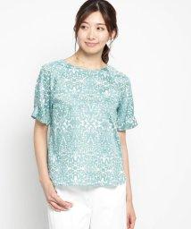 AIRPAPEL/【洗える】ボタニープリントシャツ/502311764