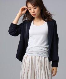 UNTITLED/【洗える】シャイニーキュプラ ショートジャケット/502311829