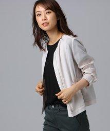 UNTITLED/[L]シャイニーキュプラ ショートジャケット/502311937