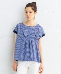 LANVIN en Bleu/リボンデザインブラウス/502003878