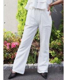GYDA/【セットアップ対応商品】シフリー刺繍フレアパンツ/502274718