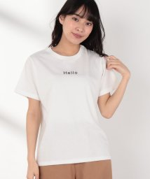 Melan Cleuge/HELLOプリントTee/502302254
