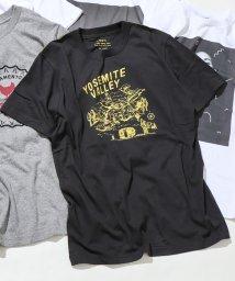 coen/キャンププリントTシャツ/502305595