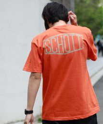 Schott/【WEB限定】HEXAGON LOGO T-SHIRT/ヘキサゴンロゴ Tシャツ/502313115