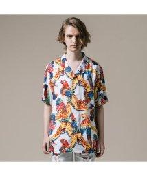 Levi's/キューバシャツ PARROTS BRILLIANT WHITE PRINT/502313310