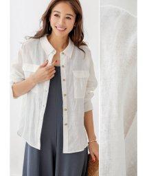 STYLE DELI/【LUXE】リネン羽織りシャツ/502314347