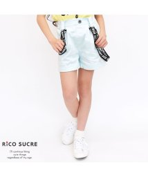 RiCO SUCRE/ロゴサスペンダー付きショートパンツ/502314470
