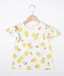3can4on(Kids)/【110cm~160cm】総柄フルーツTシャツ/502314659