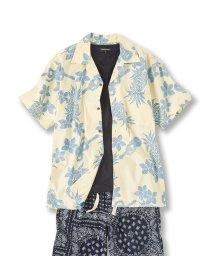 GRAND-BACK/【大きいサイズ】ツーパームス/TWO PALMS ハワイアロハ表使いシャツ/502314958