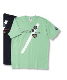 GRAND-BACK/【大きいサイズ】シナコバ/SINA COVA  天竺ワッペン使い クルーネック半袖Tシャツ/502315005