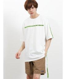 semanticdesign/RINgs リフレクターテープギミックBIG半袖シャツ/502315202