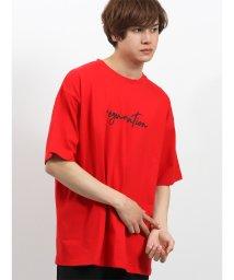 semanticdesign/テープ使いクルーネック半袖Tシャツ/502315210