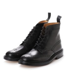 TRICKER'S/トリッカーズ Tricker's M2508-Double Leather Sole-BLACK (BLACK)/502315826