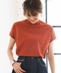 coen/【WEB限定カラーに新色ブラウン登場】USAコットンハイネックTシャツ/501587677
