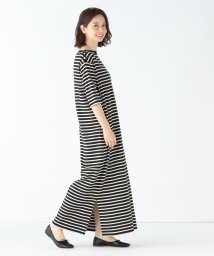 Demi-Luxe BEAMS/Le minor / ROBE BATEAU ボーダーワンピース/502251916