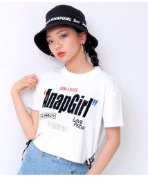 ANAP GiRL/裾ロゴテープトップス/502297814