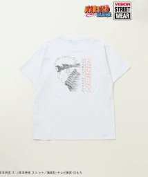 VENCE EXCHANGE MENS/VISION×NARUTO ナルト柄Tシャツ/502298634