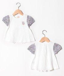 petit main/ネコお花Tシャツ/502305491