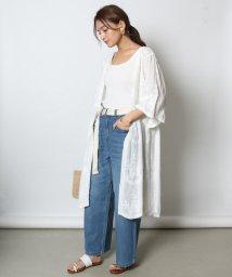 SCOTCLUB/GRANDTABLE(グランターブル) 刺繍レースコットンガウン/502305769