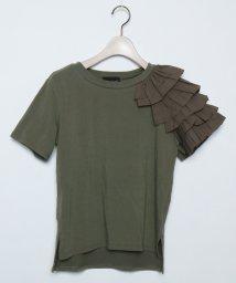 SCOTCLUB/GRANDTABLE(グランターブル) フリルショルダーTシャツ/502305788