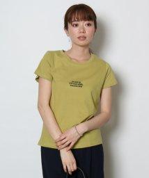 SCOTCLUB/GRANDTABLE(グランターブル) 立体ロゴモチーフTシャツ/502305789