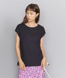 BEAUTY&YOUTH UNITED ARROWS/BY ボイルバックタイフレンチスリーブブラウス/502307647