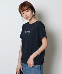 SCOTCLUB/SCOTCLUB(スコットクラブ) サイドタックロゴTシャツ/502308356
