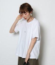 SCOTCLUB/etto(エット) TEA&SAHARAロゴTシャツ/502308360