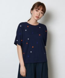 SCOTCLUB/FENNEL(フェンネル) スター刺繍Tシャツ/502308361