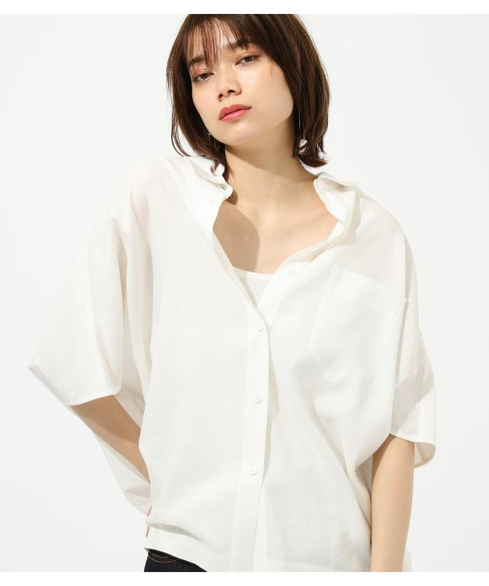 LOOSE DOLMAN SHIRT