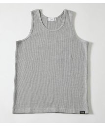 AZUL by moussy/WAFFLE LACTIC ACID TANK TOP/502316579