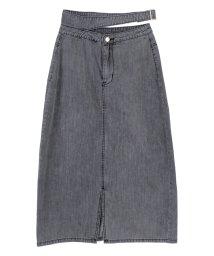 titivate/フロントスリットバックルデザインスカート/502316671