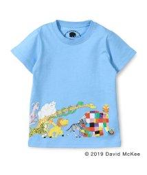 skeegee/【ぞうのエルマー】エルマーとともだちプリントTシャツ(90~130cm)/502317057